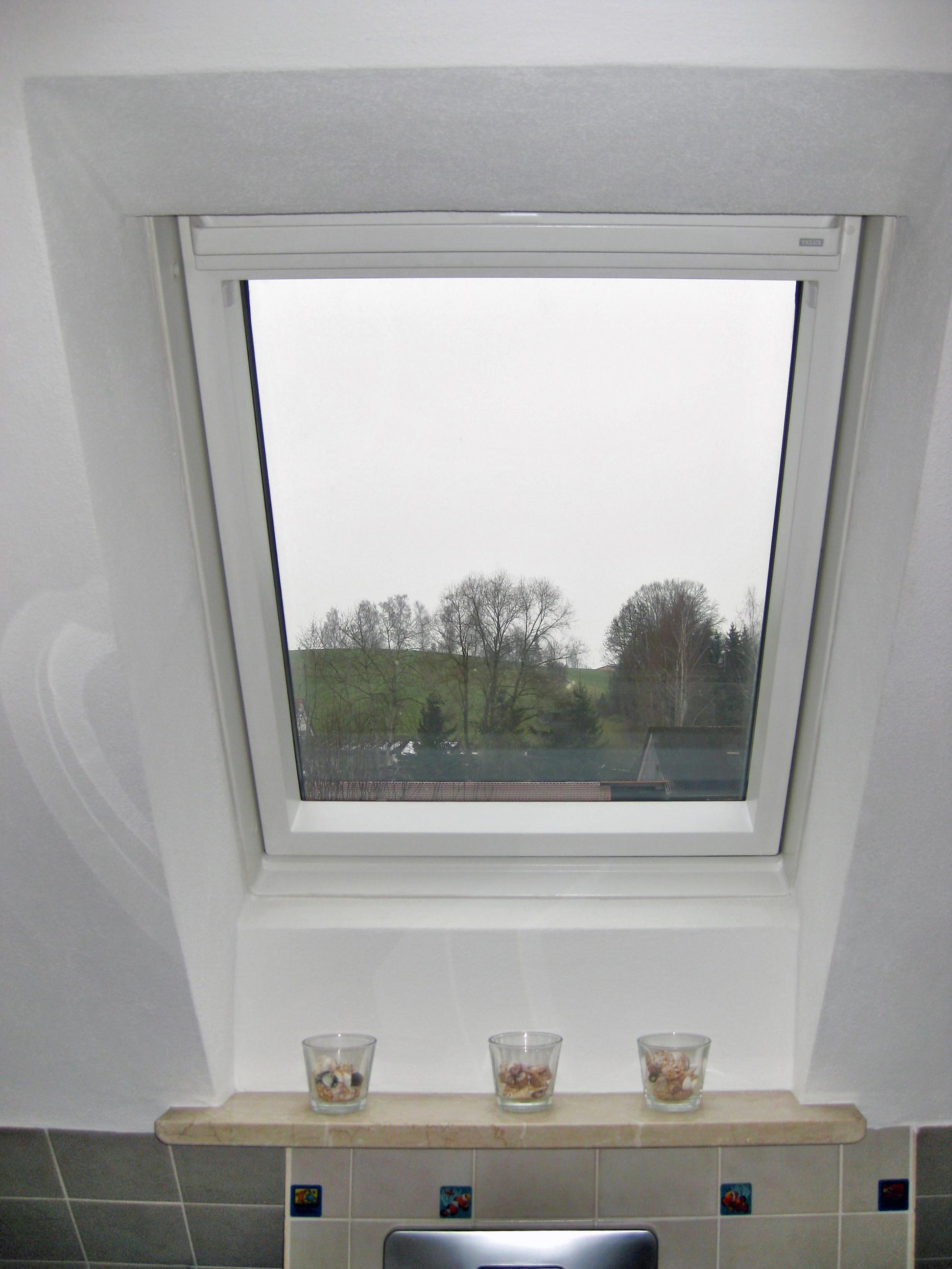 Dachfenster tausch im Bad