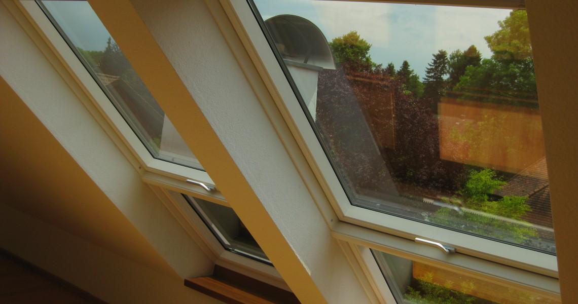 Dachfenster (Lichtband) austausch